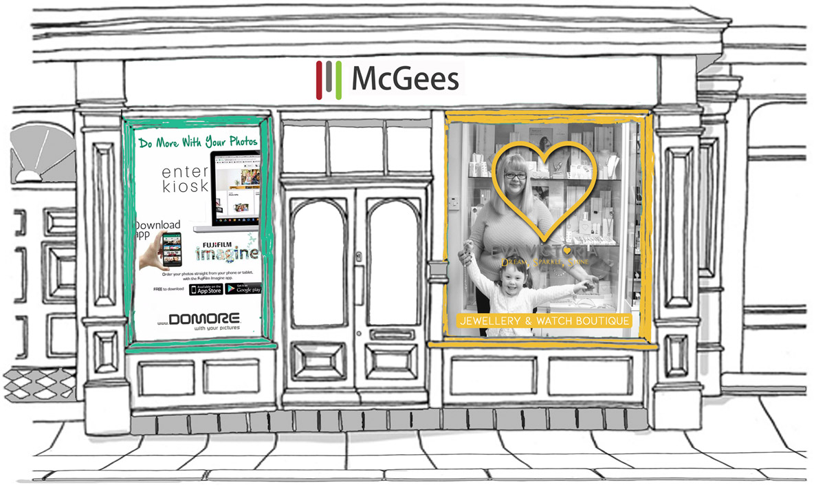 McGee's Of Killybegs Shopfront